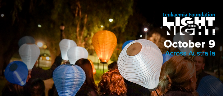 Light the Night - October 9 2015 - Leukaemia Foundation